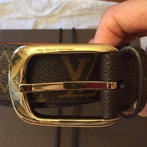 Louis Vuitton Accessories - Louis Vuitton Monogram Ellipse Belt